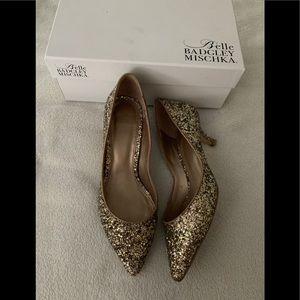 Belle Badgley Mischka Puma Heels